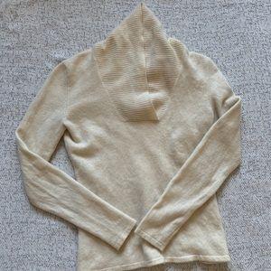 Prive 100% Cashmere Cream Sweater